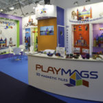 Playmags Stand at the Toy Fair 2018